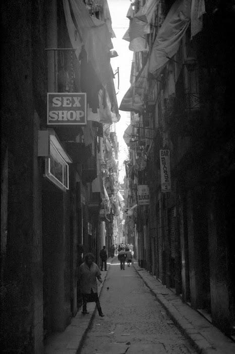 Barcelone, Ciutat Vella, © L. Gigout, 1991