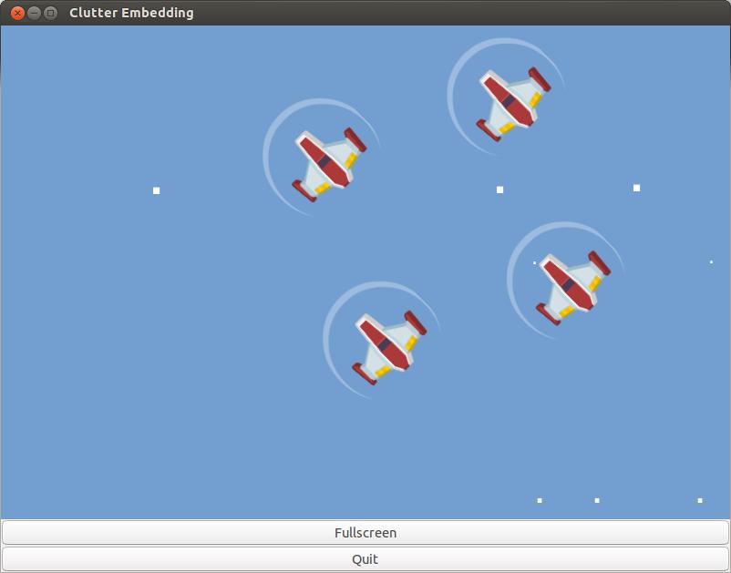 Windowed GTK3 games - Clutter (part1) | Curiosity-driven development