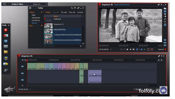 شرح Lightworks لتحرير وتعديل الفيديو والمونتاج