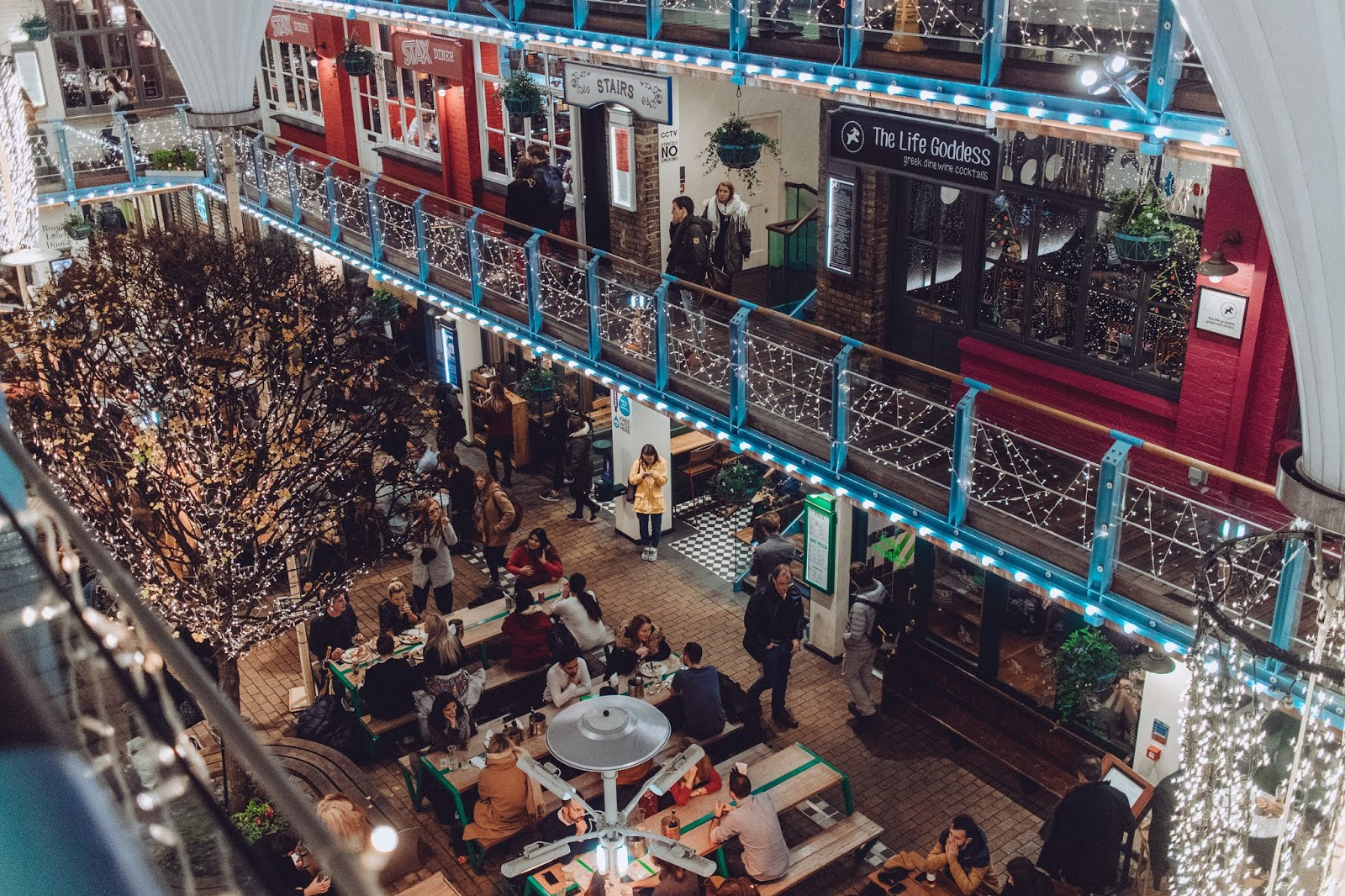 Kingly Court in Carnaby Street