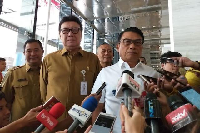 Moeldoko Minta PNS Kemendagri Kampanyekan Keberhasilan Jokowi