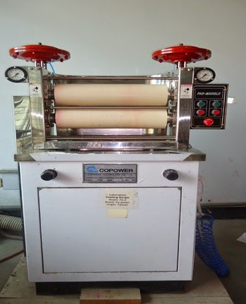 Padding mangle machine