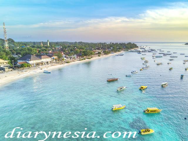 gili trawangan tourism, lombok island tourism, must visit place in lombok Indonesia, diarynesia