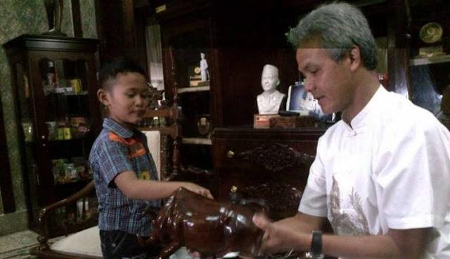 Setelah Bertemu Gubernur Jawa Tengah, Daffa Mengajak Beliau Debat!