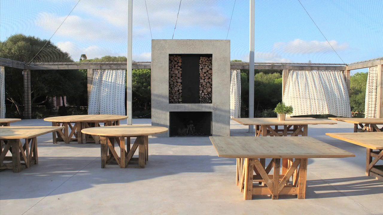 Camp Sarch. Jardín diseñado por Fernando Caruncho en una finca próxima a Mahon en Menorca