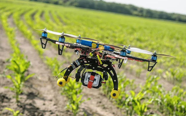 Με... drones, θα παρακολουθούν την σοδειά τους οι αγρότες στην Καρδίτσα