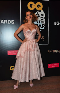Kanagna Ranaut at GQ Men of the Year Awards 2016