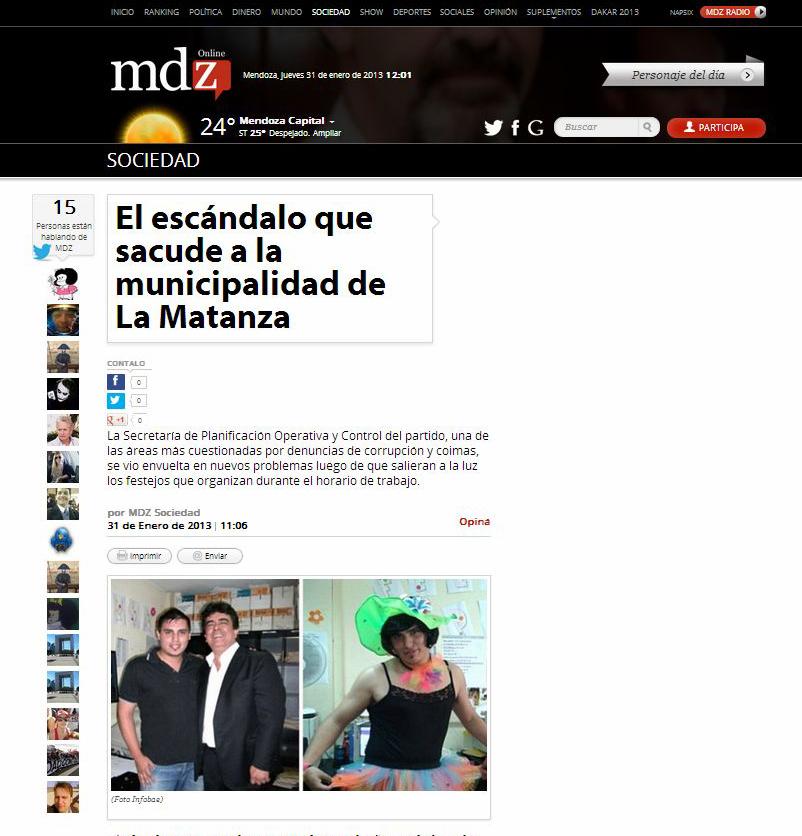 Ramos mej a trucha el esc ndalo que sacude a la for Municipalidad la matanza