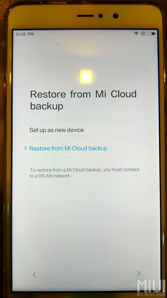 Restore phone data google account