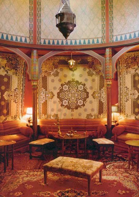 Turkish Smoking Room  1889 Victorian House Restoration