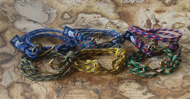 Pulsera náutica Hook -- Nautical bracelet Hook