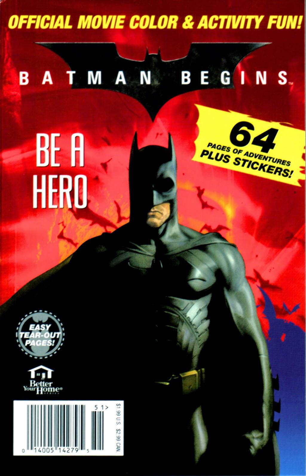 Gone Forgotten Batman Leads An Interesting Life The Batman Begins Activity Book