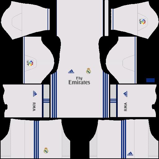 huge discount c00d3 cb965 Baju Real Madrid Dream League Soccer - Model Baju Terbaru 2019