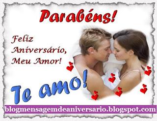 Mensagem de Aniversario para Namorado bem Romântica