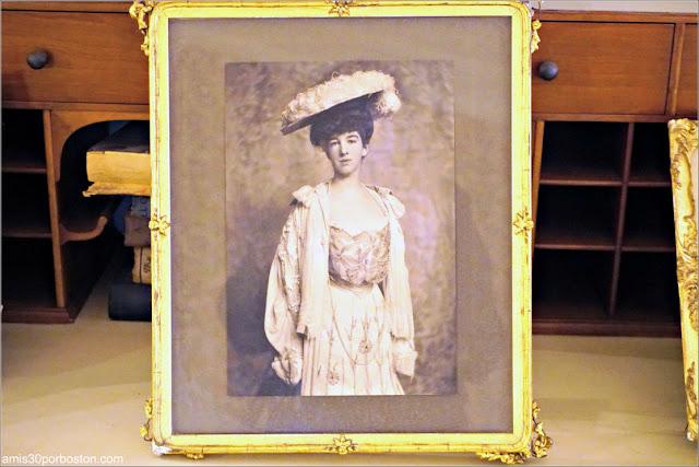 Foto del Dormitorio de Gertrude en la Mansión The Breakers, Newport