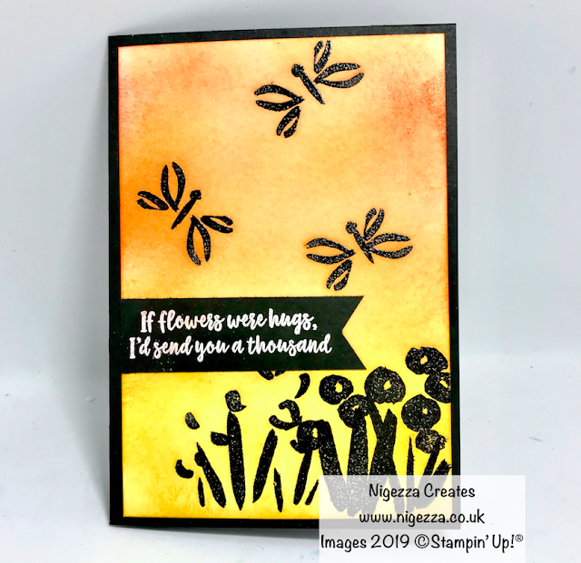 Abstract Impressions Stampin Up