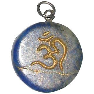 Pooja Gems Multi Colour 1.5 Inches Natural Agate Stone Pencil Pendant