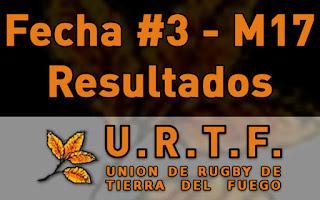 [URTF] Resultados: Menores de 17 - Fecha #3