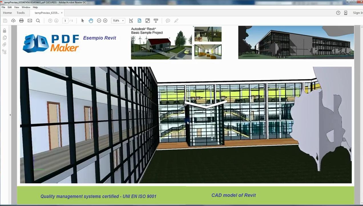 3D PDF For Revit download free for windows 8 1 32bit current version