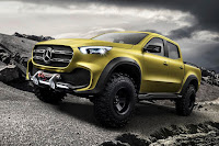 Mercedes-Benz Concept X-Class 'Adventurer' (2016) Front Side