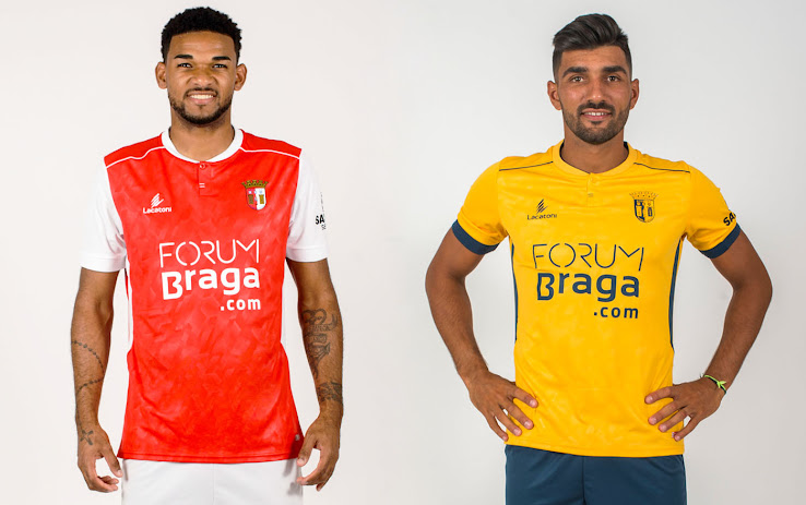 Sporting Braga 18-19 Home and Away Kits Released - Footy