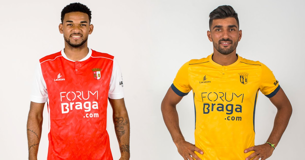 2a62bcd86ac Sporting Braga 18-19 Home and Away Kits Released