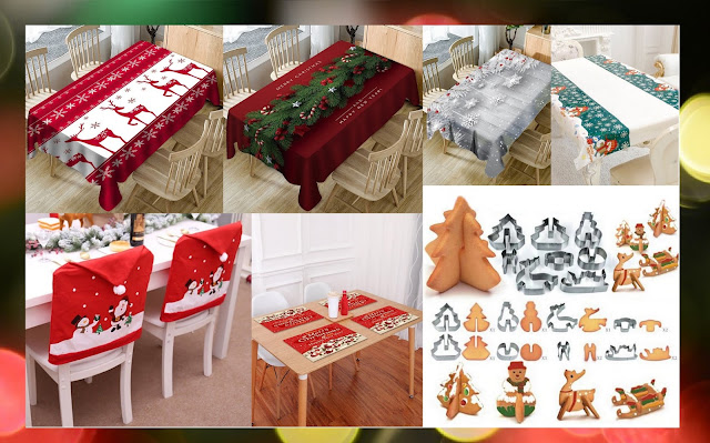 rosegal christmas decoration to Kitchen & Dinning