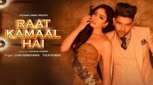 guru-randhawa-on-raat-kamaal-hai-song