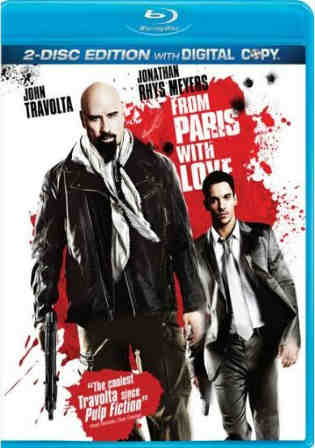 From Paris With Love 2010 BRRip 300Mb Hindi Dual Audio 480p Watch Online Full Movie Download bolly4u