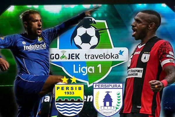 Prediksi GO-JEK LIGA 1 INDONESIA Persipura Jayapura vs Persib Bandung 15 Oktober 2018 Pukul 13.30 WIB - liganation