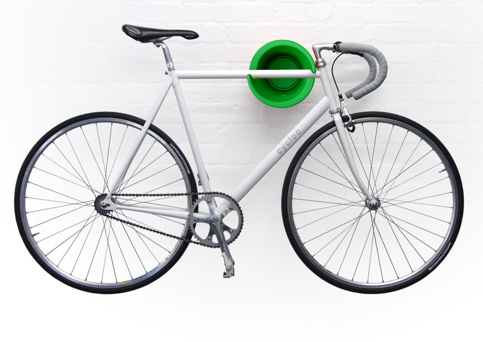 simply balanced design: The Cycloc Bike Storage