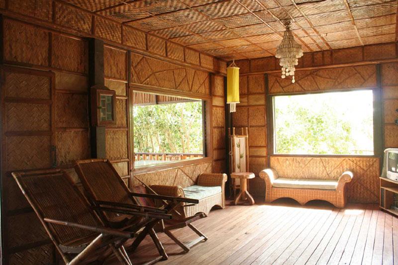 Small Bamboo House Cotage Hotel Interior Design Idea for ...