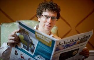 Grunberg stopt met Volkskrant-column Voetnoot