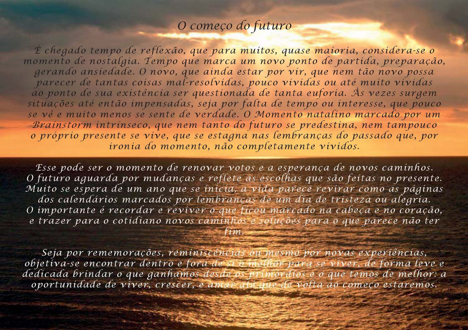 Mensagem De Natal Reflexão: Para Recordar...: Dezembro 2011
