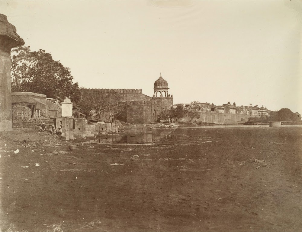 Water Gate of Red Fort, Delhi - 1858