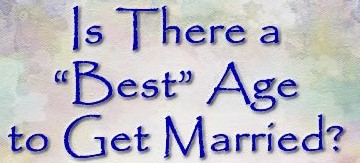 a good age to get married
