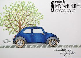 Driving by - photo by Deborah Frings - Deborah's Gems
