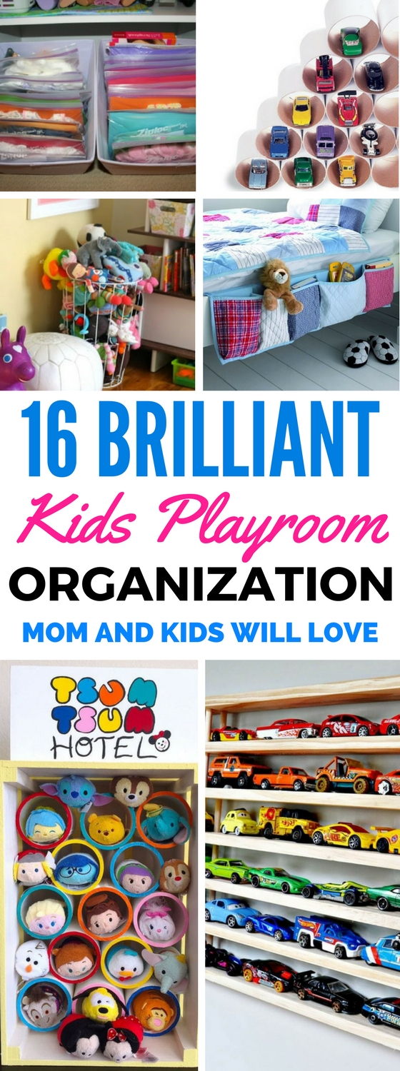 16 Great Kids Toy Storage And Organization Ideas For Boys And Girls - Find the best and cheapest ways to organize your kids playroom with these easy diy projects for home decor