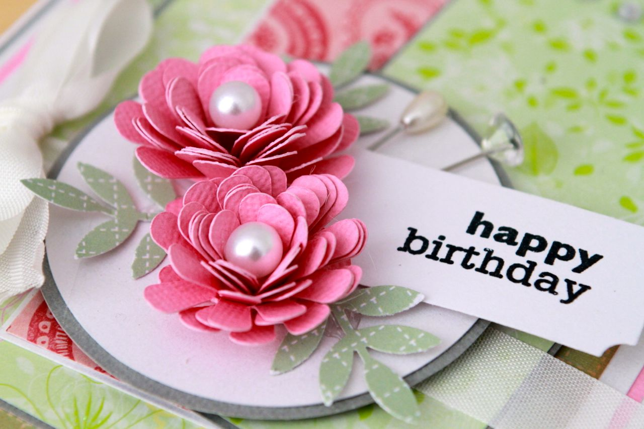 Happy birthday flowers izmirmasajfo