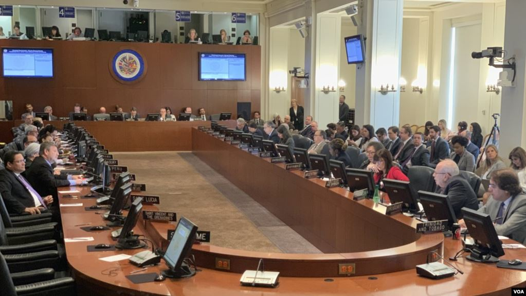 El Consejo Permanente de la OEA escuchó el martes 21 de mayo las propuestas de los candidatos para integrar la CIDH para el período 2021-2024 / VOA