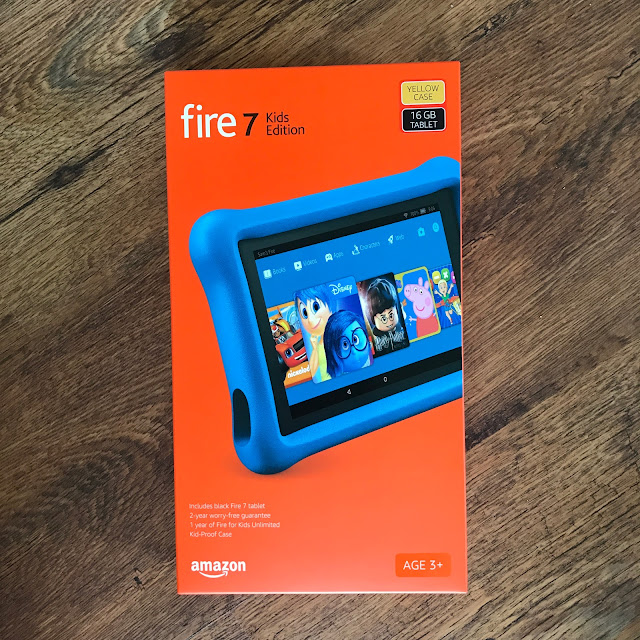 Yellow Kindle Fire for Kids
