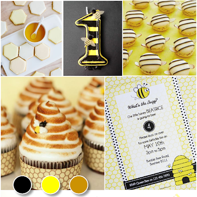 Bee Inspired Birthday Party Ideas