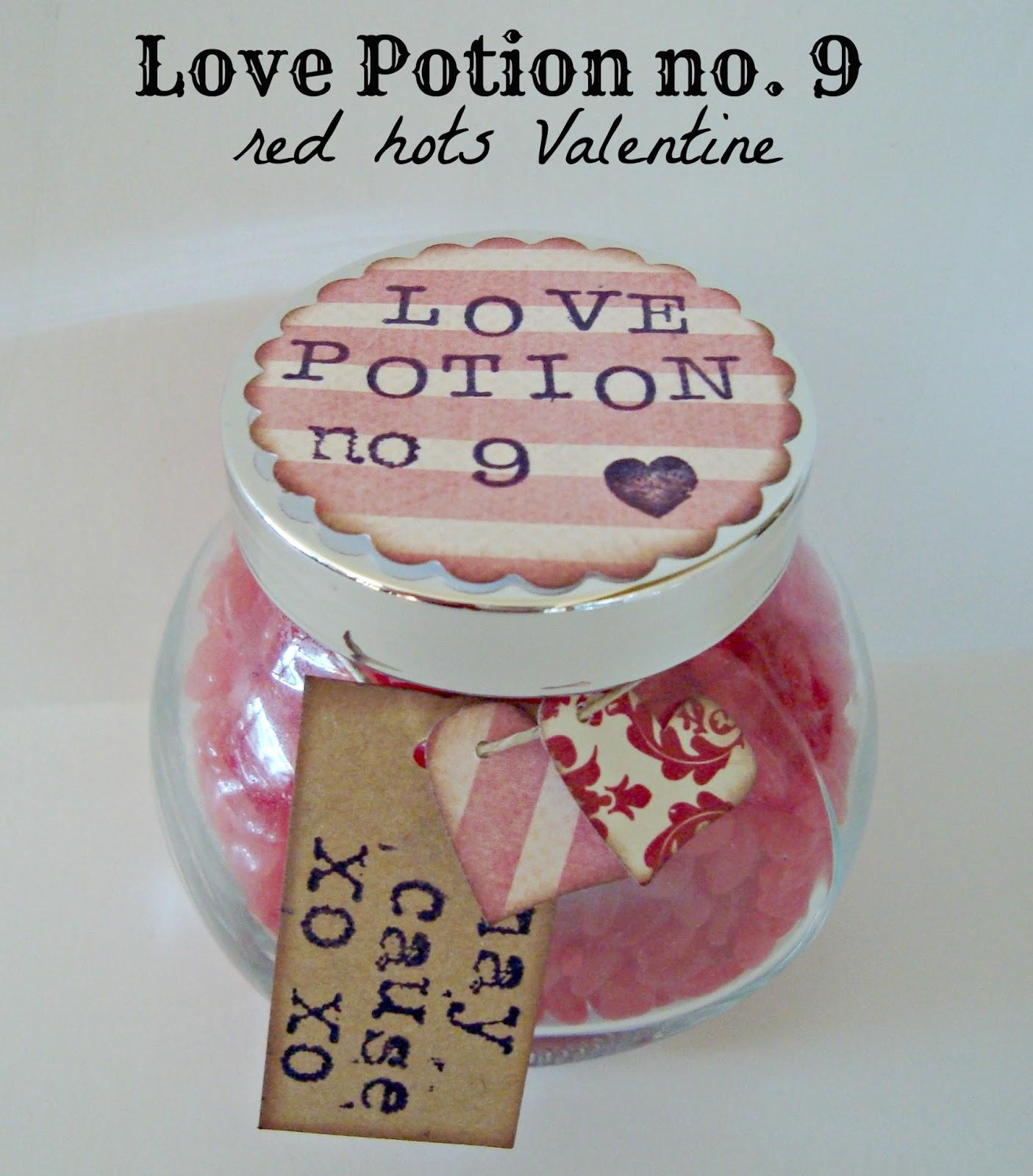 love potion no 9 red hots valentine. Black Bedroom Furniture Sets. Home Design Ideas
