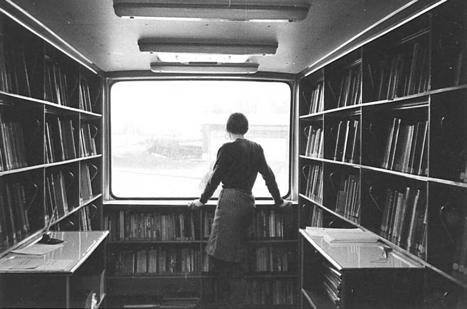 A bus with a view, 1967.