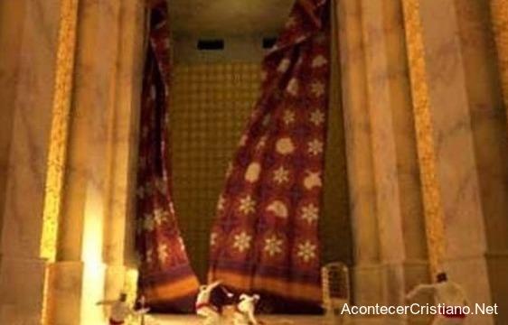 Velo para el Tercer Templo de Jerusalén