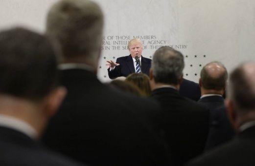 La CIA desconfía de Trump y le oculta información