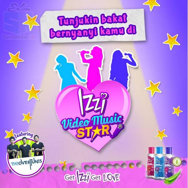 Lomba Video Izzi Music Star Berhadiah Uang Total 30 Juta + Masuk TV