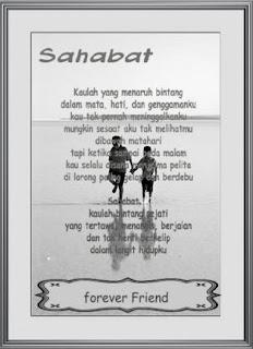 Puisi Sahabat dan Persahabatan