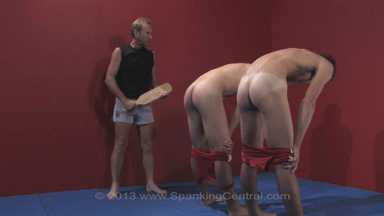 Spanking and wrestling with the rules