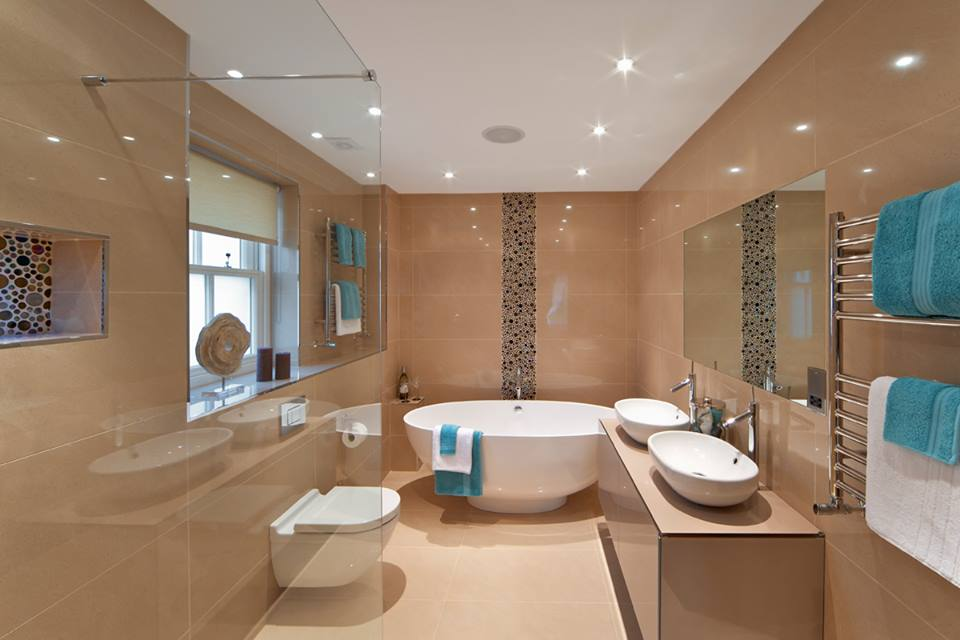 Modern Bathroom Designs With Jacuzzi Tub